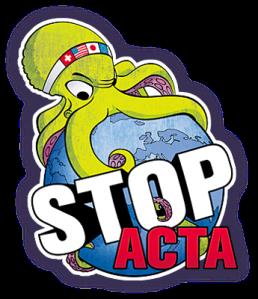 Stop ACTA! Logo